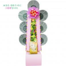 [축하]쌀화환10kg-1호