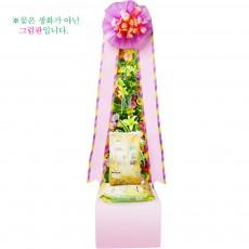 [축하]쌀화환20kg-2호